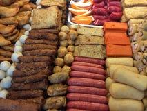Σειρές των τροφίμων Στοκ Εικόνες