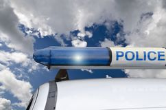 Σειρήνα αστυνομίας στοκ εικόνα με δικαίωμα ελεύθερης χρήσης