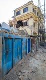 Σεισμοί του Νεπάλ Στοκ Εικόνες