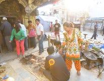 Σεισμοί του Νεπάλ Στοκ φωτογραφίες με δικαίωμα ελεύθερης χρήσης