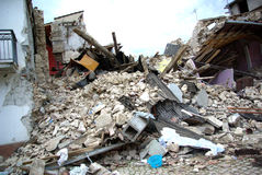 σεισμός Ιταλία Στοκ Εικόνες