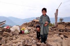 Σεισμός συνέπειας στοκ εικόνες με δικαίωμα ελεύθερης χρήσης