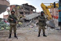 σεισμός Τουρκία στοκ εικόνες