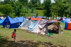 Σεισμός του Νεπάλ στοκ φωτογραφίες με δικαίωμα ελεύθερης χρήσης
