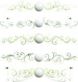 σελίδα γκολφ διαιρετών Στοκ εικόνα με δικαίωμα ελεύθερης χρήσης