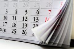 Σελίδα του ημερολογίου _ στοκ φωτογραφίες με δικαίωμα ελεύθερης χρήσης