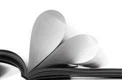 σελίδες αγάπης Στοκ εικόνα με δικαίωμα ελεύθερης χρήσης