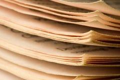 σελίδες βιβλίων Στοκ εικόνες με δικαίωμα ελεύθερης χρήσης