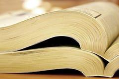 σελίδες κίτρινες Στοκ εικόνες με δικαίωμα ελεύθερης χρήσης