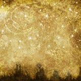 σεληνιακός παλαιός τοπίω διανυσματική απεικόνιση