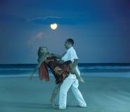 σεληνόφωτο χορού Στοκ φωτογραφία με δικαίωμα ελεύθερης χρήσης