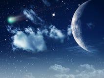 Σεληνόφωτο. διανυσματική απεικόνιση