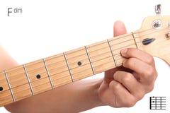 Σεμινάριο χορδών κιθάρων Fdim Στοκ φωτογραφίες με δικαίωμα ελεύθερης χρήσης