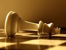 σενάριο σκακιού Στοκ φωτογραφία με δικαίωμα ελεύθερης χρήσης