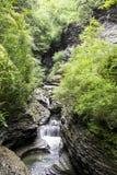 Σενέκας Falls Rocky Waterfall Στοκ Φωτογραφία