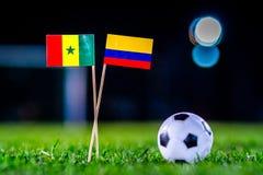 Σενεγάλη - Κολούμπια, ομάδα Χ, Πέμπτη, 28 Ποδόσφαιρο Ιουνίου, κόσμος στοκ φωτογραφίες