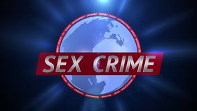 Σεξουαλικό έγκλημα Δυναμική γραφική παράσταση ραδιοφωνικής μετάδοσης διανυσματική απεικόνιση
