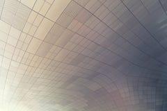 ΣΕΟΥΛ, ΝΟΤΙΑ ΚΟΡΕΑ - 14 ΑΥΓΟΎΣΤΟΥ 2016: Ανώτατο όριο της στέγης Plaza σχεδίου Dongdaemun στη Σεούλ, που σχεδιάζεται από Zaha Hadi Στοκ Φωτογραφίες