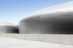 ΣΕΟΥΛ, ΝΟΤΙΑ ΚΟΡΕΑ - 14 ΑΥΓΟΎΣΤΟΥ 2016: Μπροστινή πλευρά του σχεδίου Plaza Dongdaemun που βρίσκεται στη Σεούλ, που σχεδιάζεται απ Στοκ Εικόνα