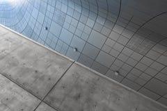 ΣΕΟΥΛ, ΝΟΤΙΑ ΚΟΡΕΑ - 14 ΑΥΓΟΎΣΤΟΥ 2016: Τεμάχιο του σχεδίου Plaza Dongdaemun που βρίσκεται στη Σεούλ, που σχεδιάζεται από Zaha Ha Στοκ Φωτογραφία