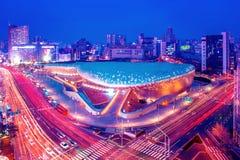 ΣΕΟΥΛ, ΝΟΤΙΑ ΚΟΡΕΑ - 4 ΦΕΒΡΟΥΑΡΊΟΥ: Σχέδιο Plaza Dongdaemun Στοκ Εικόνες