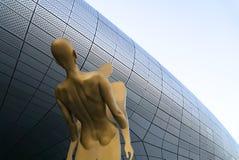 Σεούλ, Νότια Κορέα στις 20 Νοεμβρίου 2016 Dongdaemun σχεδίου plaza κτήριο αρχιτεκτονικής που σχεδιάζεται σύγχρονο από το zaha had Στοκ Φωτογραφίες