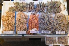 Σεούλ, Νότια Κορέα, Μάιος 15, 2017 Αγορά ψαριών Noryangjin Στοκ φωτογραφίες με δικαίωμα ελεύθερης χρήσης