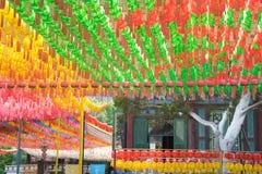 Σεούλ, Νότια Κορέα - 28 Μαΐου 2017: Ναός Jogyesa Στοκ εικόνες με δικαίωμα ελεύθερης χρήσης