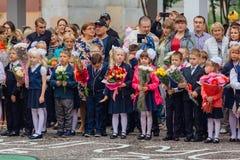 Σεπτέμβριος η πρώτος-ημέρα της γνώσης στη Ρωσία Στοκ Εικόνα