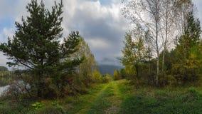 Σεπτέμβριος στα βουνά Sayan Στοκ Εικόνες