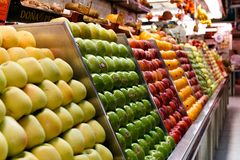 Σεπτεμβρίου, αγορά 23 Μαδρίτη στοκ φωτογραφίες