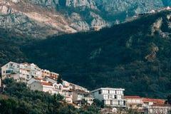17 Σεπτεμβρίου 2016 Μαυροβούνιο, sveti Stefan Στοκ εικόνα με δικαίωμα ελεύθερης χρήσης