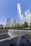 11 Σεπτεμβρίου μνημείο - πόλη της Νέας Υόρκης, ΗΠΑ Στοκ Φωτογραφίες