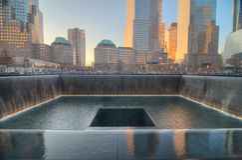 11 Σεπτεμβρίου μνημείο Στοκ Φωτογραφία
