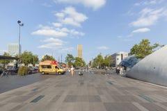 18 Σεπτεμβρίου τετράγωνο, Αϊντχόβεν, Κάτω Χώρες στοκ εικόνες