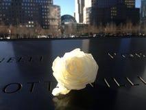 11 Σεπτεμβρίου το αναμνηστικό σημείο μηδέν αυξήθηκε στοκ εικόνα με δικαίωμα ελεύθερης χρήσης
