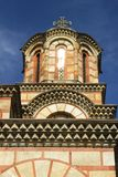 Σερβία, Belgrad, πύργος εκκλησιών σημαδιών Αγίου στοκ εικόνα