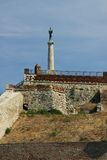 Σερβία, Belgrad, φρούριο Kalemegdan Στοκ εικόνες με δικαίωμα ελεύθερης χρήσης