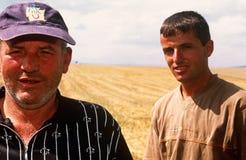 Σερβικά άτομα σε Κόσοβο. στοκ φωτογραφία