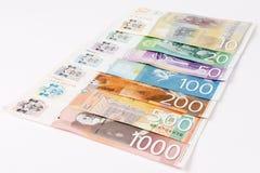 Σερβικά τραπεζογραμμάτια Δηναρίων στοκ φωτογραφία με δικαίωμα ελεύθερης χρήσης