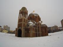 Σερβική Ορθόδοξη Εκκλησία σε Κόσοβο, Ανατολική Ευρώπη Στοκ φωτογραφία με δικαίωμα ελεύθερης χρήσης