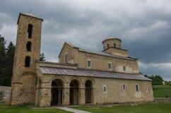 Σερβικό ορθόδοξο μοναστήρι Sopocani, 13ος αιώνας Στοκ Εικόνες