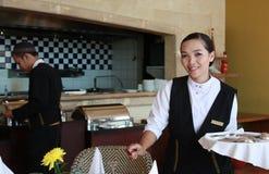 σερβιτόρα Στοκ Εικόνα