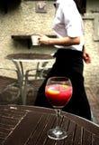 σερβιτόρα Στοκ εικόνα με δικαίωμα ελεύθερης χρήσης