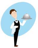 σερβιτόρος απεικόνιση αποθεμάτων