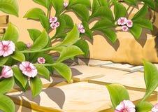 σερνμένος φυτό λουλου&delt ελεύθερη απεικόνιση δικαιώματος