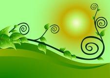 σερνμένος editable διάνυσμα φυτών απεικόνισης Στοκ φωτογραφία με δικαίωμα ελεύθερης χρήσης