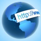 σερφ Διαδικτύου Στοκ φωτογραφίες με δικαίωμα ελεύθερης χρήσης