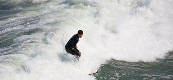 Σερφ στην αυτοκρατορική παραλία Καλιφόρνια Στοκ εικόνες με δικαίωμα ελεύθερης χρήσης