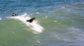 Σερφ στην αυτοκρατορική παραλία Καλιφόρνια Στοκ φωτογραφίες με δικαίωμα ελεύθερης χρήσης